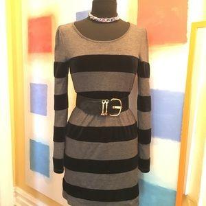 Bar III Velvet Knit Dress